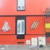 Décoration sur la facade de la Boulangerie Maison Schaming à Yutz (Thionville) en Moselle.