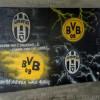 Ecussons de foot Juve et BVB Dortmund
