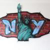 N statue Y